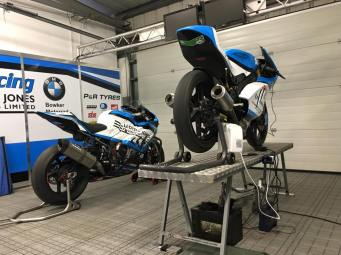 P3Tuning Ltd supporting PLJ-racing in the British super bikes