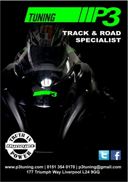 Motorcycle Dynojet dyno Liverpool P3 Tuning