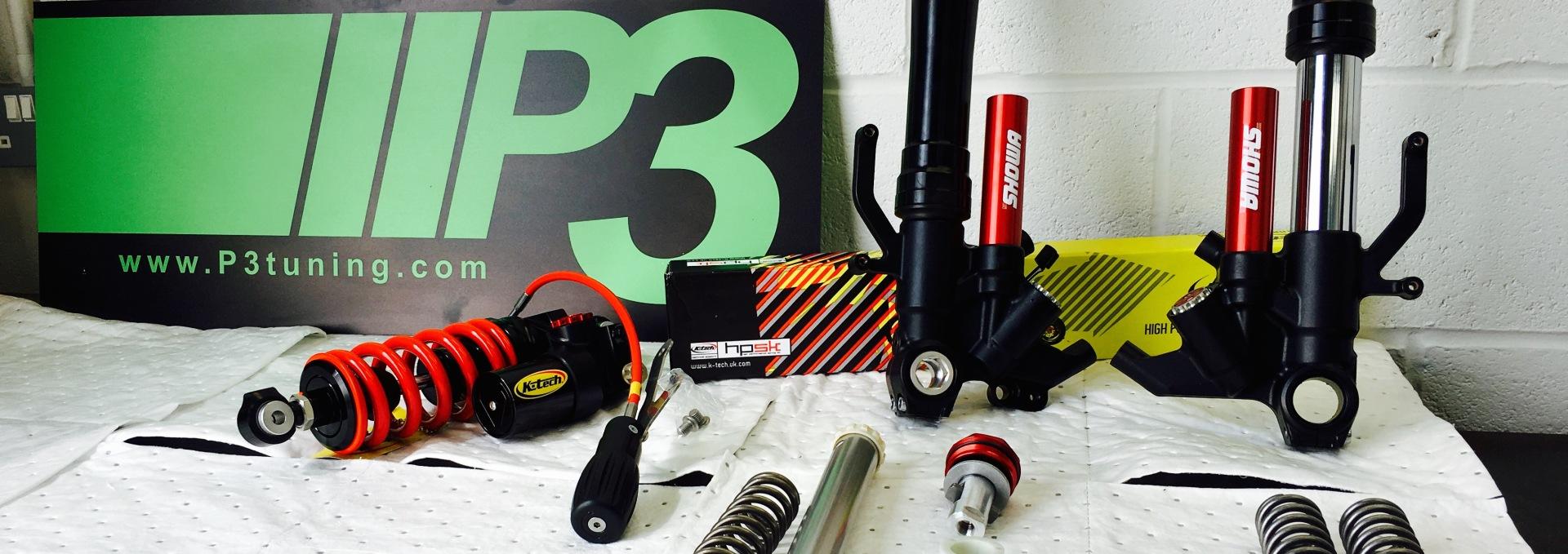 K-Tech suspension repair service Liverpool P3 Tuning